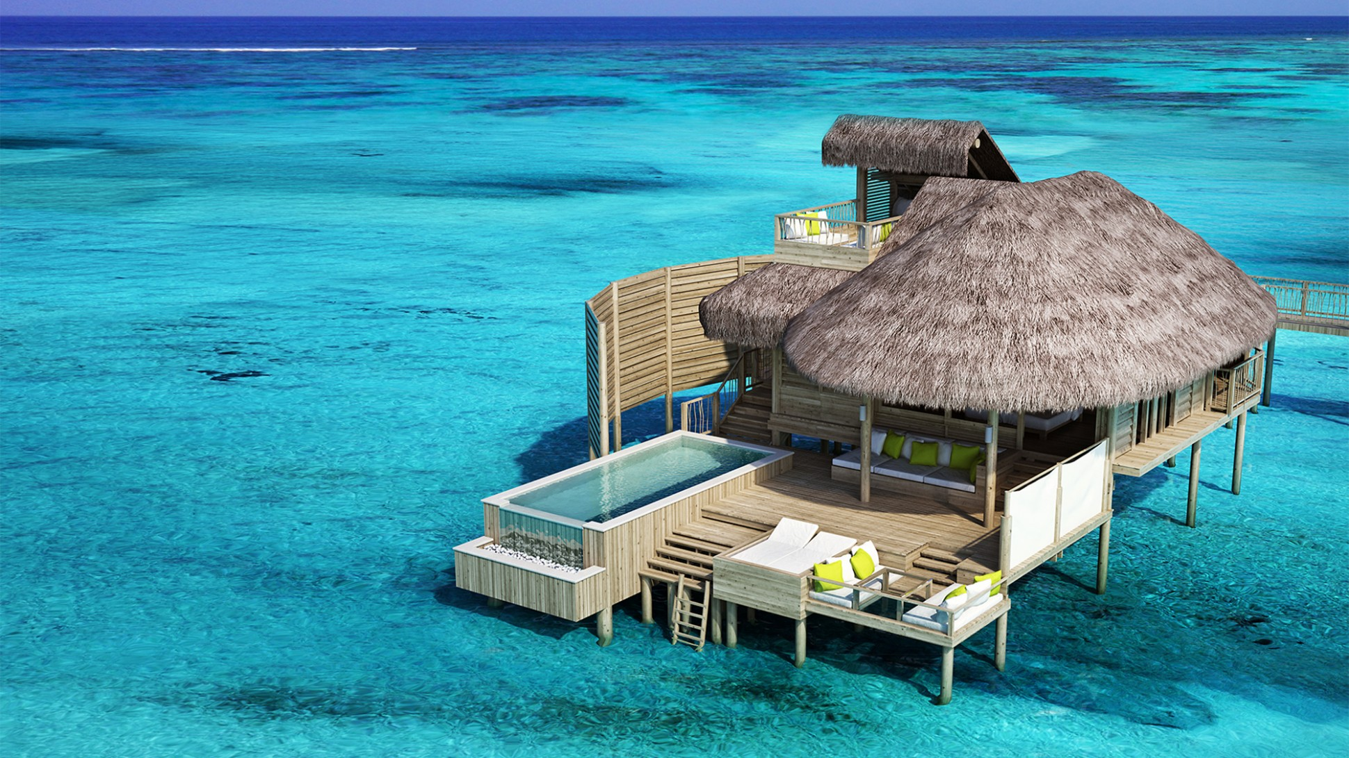 The Tropical Overwater Bungalow Long A Symbol Of Relaxation And Luxury Turns 50 All About Playa Del Carmen